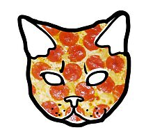 Pizza Cat by meganbxiley