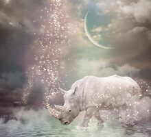 The Most Beautiful Have Known Defeat, Suffering, Struggle... (Rhino Dreams)  by soaringanchor