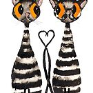 CATS IN LOVE by Hares & Critters