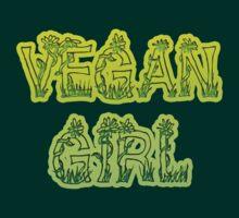 Vegan Girl by T-ShirtsGifts