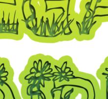Vegan Girl Sticker