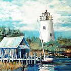 Another view of Ocracoke by Jim Phillips