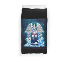 The angel has a phone box Duvet Cover