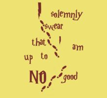 I solemnly swear that I am up to NO good Kids Clothes