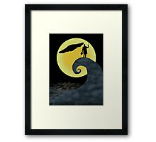 The Doctor's Nightmare Before Christmas Framed Print