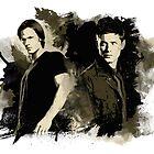 Sam & Dean by beanzomatic