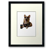 Slurms Mckenzie Dog Framed Print