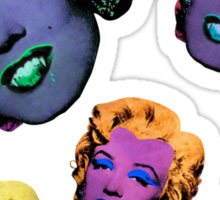 Vampire Marilyn 5b Sticker