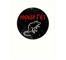 We are Mouse Rat! Art Print