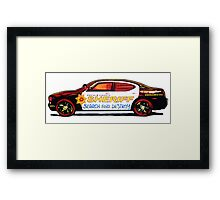 DeKalb County Sheriff Search and Destroy T-Shirt Framed Print