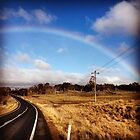 Rural road and rail of Australia by iPhone by MattLawson