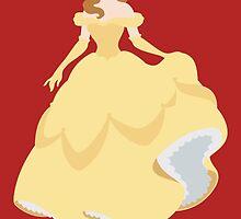 Belle Illustration by realGabe
