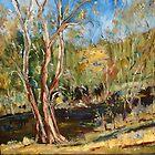 Sugarloaf Creek Broadford Vic. Australia by Margaret Morgan (Watkins)