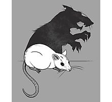 The Strange Case of Dr. Mouse and Mr. Rat Photographic Print