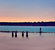 The Lone Fisherman by wallarooimages