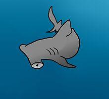 Hammerhead Shark by sempiternifty
