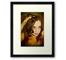 In the meadows of my heart Framed Print