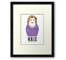 Lucille will take care Framed Print