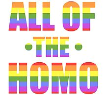 All of the Homo by trollki