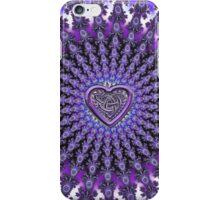 Celtic Heart Knot Fractal Mandala iPhone Case/Skin