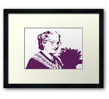 Mrs. Doubtfire Framed Print