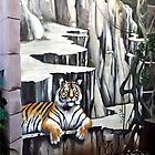 TIGER MURAL by Margaret Stevens
