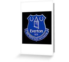 Everton logo 14/15 Greeting Card