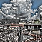 Barga Rooftops by Doug Cook