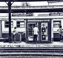 Train Station Lucca Italy by Doug Cook