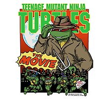 Ninja Turtles Retro First Movie 1990 Raphael Photographic Print