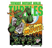 Ninja Turtles Retro First Movie 1990 Mikey Photographic Print