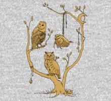 Clockwork Owls Kids Clothes