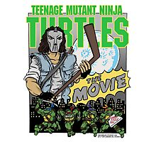 Ninja Turtles Retro First Movie 1990 Casey Jones Photographic Print