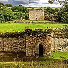 Craignethan Castle Entrance by Tom Gomez