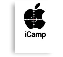 iCamp Canvas Print