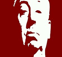 Alfred Hitchcock by Icarusismart