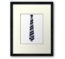 Ravenclaw Tie Framed Print