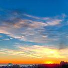 Winter Sunset by Evelyn Laeschke