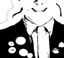 Rik Mayall - YOU B*STARD! Sticker