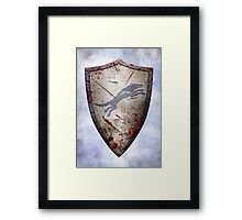 Stark Shield - Battle Damaged Framed Print