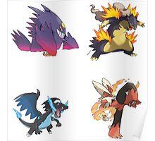 Pokemon - Best Mega Evolutions Poster