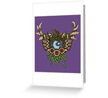 Druid Crest Greeting Card