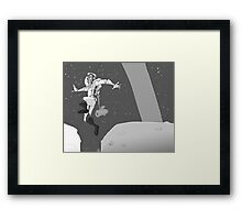 MoonBound Framed Print