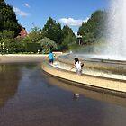 Summerplay in the city by HeklaHekla
