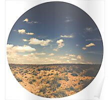Wide Open West Sand Sun and Sage Poster