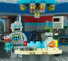 LEGO Minifigure Robot by Peter Kappel