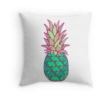Colorful Pineapple Throw Pillow