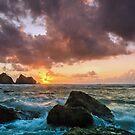 Holywell Bay by JEZ22