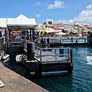 Dock at Hamilton by Lucinda Walter