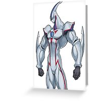 elemental hero neos yugioh Greeting Card